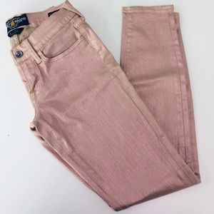 COPY - Pink shimmer Lucky Brand jeans